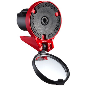 THE BEAM Corky Rear-View Mirror red